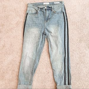 Pacsun vintage icon striped mom jeans size 29